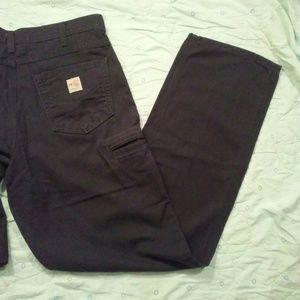 6f6b1b7ab7c3 Carhartt Jeans - Carhartt FR Fireproof Size 34x34 Black Pants!